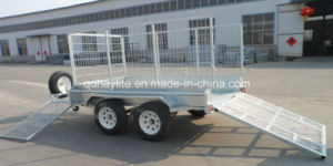 Car Ramp Box Caged Trailer pictures & photos