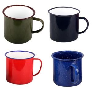Personalized Making 5/6/7/8/9/10/11/12mm Enamel Tea Coffee Mug Cup pictures & photos