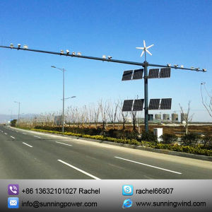 Wind Hybrid Solar Power System for CCTV pictures & photos