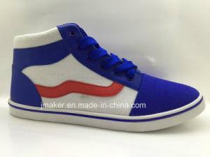 Classic High Top Men Canvas Footwear (D135-M) pictures & photos