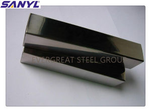 Stainless Steel Pipe/Tube for Decorative pictures & photos