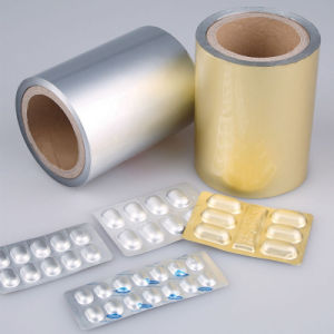 Medication Bottom Cold Aluminum Foil for Pills Tablets Capsules Pack pictures & photos