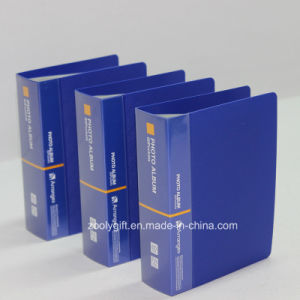 Customize Logo Printing 60 Pockets Plastic PP Photo Albums pictures & photos
