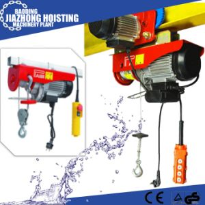 Promotion PA 1000 Kg Mini Wire Rope Hoist for Home Use pictures & photos