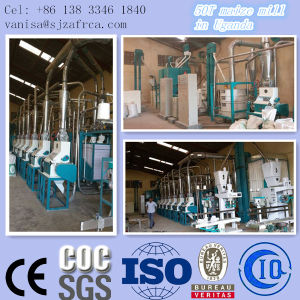 Togo 50t Maize Milling Machine Running pictures & photos