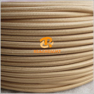 2 or 3 Core 0.75mm2 Electrical Wire/Textile Cable/Fabric Cable Cotton Cable Wire pictures & photos