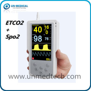Portable Sidestream/Mainstream Etco2 Monitor with SpO2 pictures & photos