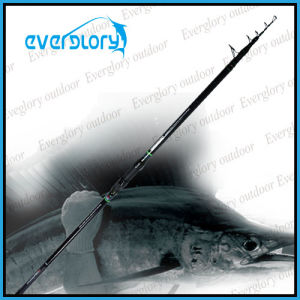 High Cost Performance Mixed Carbon Tele Surf Rod Fishing Rod pictures & photos