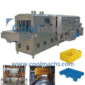 Industrial Automatic Crate / Basket Washer / Pallet Washer / Tray Washing Machine pictures & photos