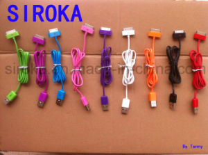 Wholesales Colorful USB Data Link Cable for iPhone (SRK UC-0215) pictures & photos