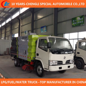 4X2 Road Sweeper Truck 95HP 5cbm Road Cleaning Truck pictures & photos