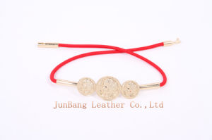 Newest Colorful PU Elastic Strech Belt for Jeans pictures & photos
