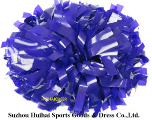 Purple Wet Look POM Poms pictures & photos