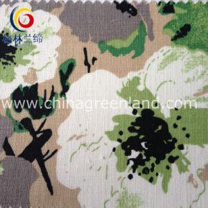 Cotton Linen Printed Fabric for Woman Garment Textile (GLLML103) pictures & photos