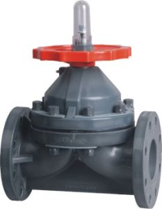 Best Factory Rpp Diaphragm Valve, Industrial Plastic Valve, PVC Valve pictures & photos
