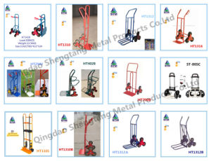 Airport Luggage Trolley with Air Wheel pictures & photos