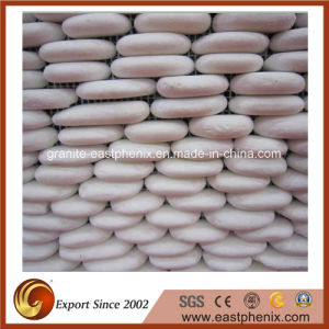 Competitive Price White Stone Mosaic pictures & photos
