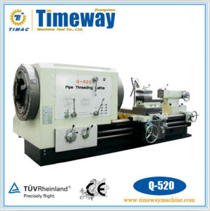 Manual Pipe Thread Cutting Lathe Machine, Oil Country Lathe Machine, Oil Field Lathe pictures & photos