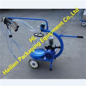 Transparent Milk Bucket Dry Type Pump Milking Machine pictures & photos