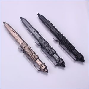 Tactical Pen with LED Self-Rescue Tool Serviceable Pen
