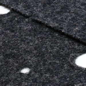50% Polyester 50%Wool Woolen Fabric for Garment pictures & photos