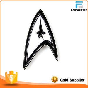 Manufacturer of Custom Metal Enamel Badges Printing Badges Sihui Crest Commemorative Badge Logo Design pictures & photos