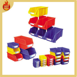 Stackable Warehouse Plastic Storage Bins for Sale pictures & photos
