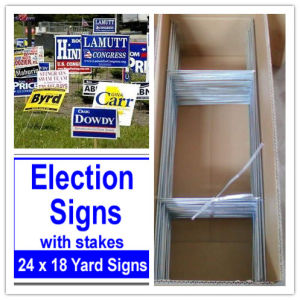 Coroplast Sign Stakes for Election pictures & photos