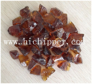 Dark Amber Terrazzo Colored Glass Chips pictures & photos