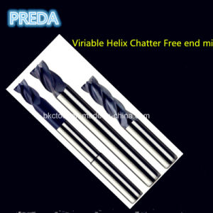 Viriable Helix Carbide Chatter Free End Mills pictures & photos