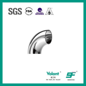 Stainless Steel Sanitary 90d Bend Elbow with Clamp (SF1000008) pictures & photos