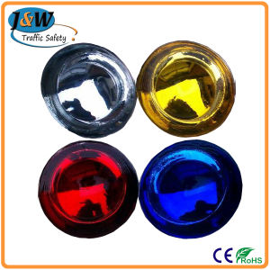 Alibaba China High Visible Road Reflector Cat Eyes / Glass Pavement Marker Road Stud pictures & photos