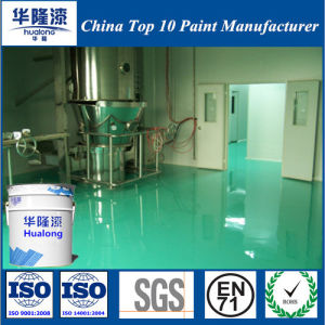 Hualong Antistatic Self-Leveling Epoxy Floor Paint pictures & photos