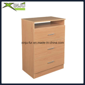 3 Drawer Wooden Modern Storage Chest