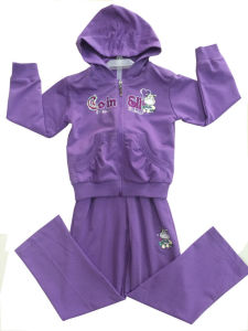 Fashion Girl Sport Wear in French Terry Children Hoodies Children Clothing (SWG-114) pictures & photos