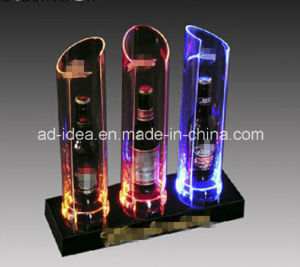 Electronic LED Display Stand / Exhibition for Bottle pictures & photos