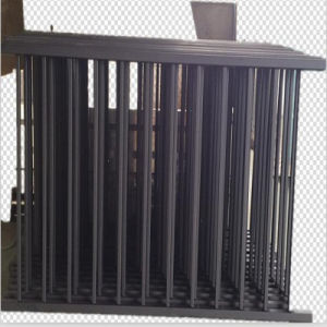 Outdoor Powder Coated Iron Fence pictures & photos