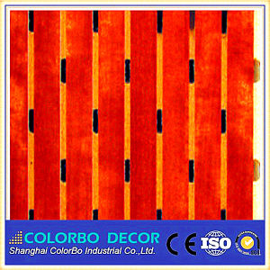 Fireproof Materials Wooden Acoustic Panel pictures & photos
