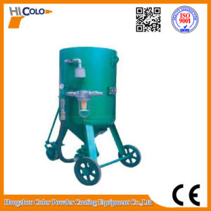 Single Station Sand Mobile Sandblasting Machine pictures & photos