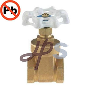 NSF Low Lead Brass Pn16 200wog Gate Valve pictures & photos