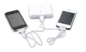 Customizable High Capacity Dual USB Mobile Power Bank Charger (PB-YD03A) pictures & photos