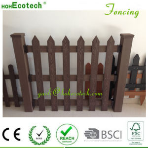 WPC Raling Wood Plastic Composite Landscape Anti UV Garden Fencing pictures & photos