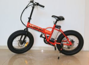 Fat Tyre Fold Electric Fat Bike pictures & photos
