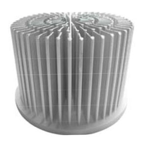 10W LED Heat Sink Cold Forged Aluminum Radiator pictures & photos