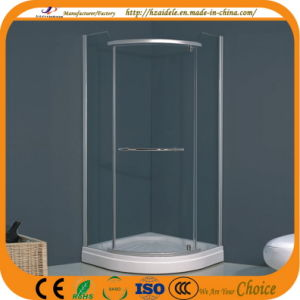 Sector Tray Indoor Corner Shower Cubicle (ADL-8030) pictures & photos