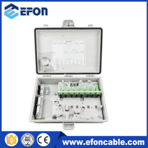 Fdb 32 Core 2 Port FTTH Terminal Boxes with Cable Gland pictures & photos