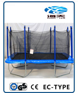 8X12ft Rectangle Trampoline with Enclosure pictures & photos