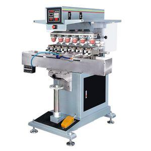 PLC Control Panel Multicolor Electric Six Color Pad Printer