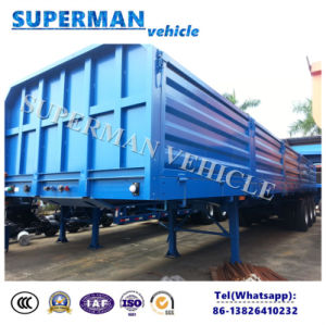 3 Axle Wood/Mine Transport Stake Cargo Semi Trailer for Sales pictures & photos