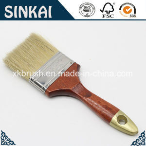 Natural Pig Hair Brush with Wooden Paint Brush pictures & photos